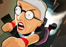 angry granny toss