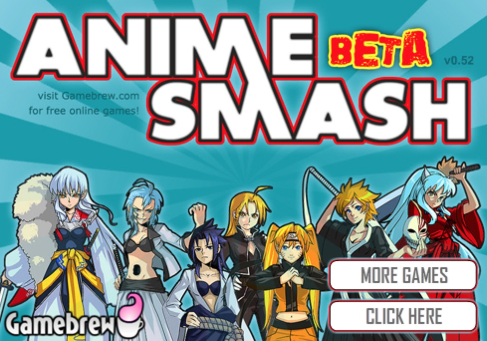 Anime Smash Beta Game