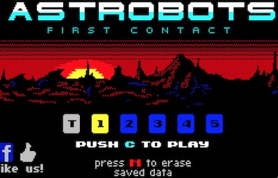 Astrobots: First Contact