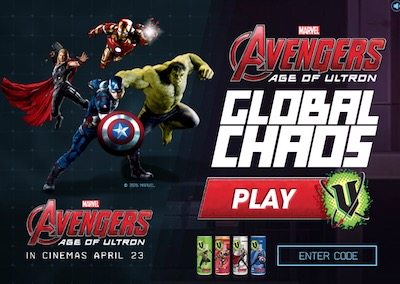 Avengers: Age of Ultron - Global Chaos