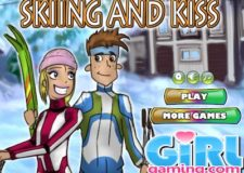 skiing-and-kiss