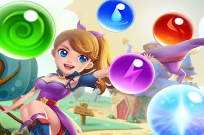 Bubble Witch Shooter