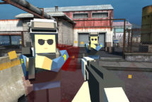 Pixel Factory Battle 3D (Shoot another team)